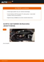 Kuinka vaihtaa moottoriöljy ja öljynsuodatin VW Transporter T4-autoon – vaihto-ohje