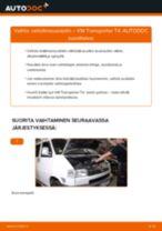 Kuinka vaihtaa raitisilmasuodatin VW Transporter T4-autoon – vaihto-ohje