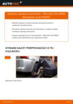 Jak wymienić sprężyny zawieszenia tył w Mercedes Vito W638 - poradnik naprawy