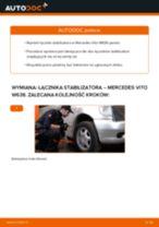 Jak wymienić łącznik stabilizatora przód w Mercedes Vito W638 - poradnik naprawy