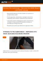 Jak wymienić filtr kabinowy w Mercedes Vito W638 - poradnik naprawy