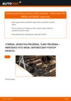Výmena Tlmič pruzenia MERCEDES-BENZ VITO: dielenská príručka