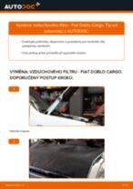Kdy vyměnit Vzduchovy filtr FIAT DOBLO Cargo (223): příručka pdf