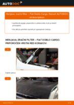 Zracni filter FIAT Doblo Cargo (223_) | PDF vodič za zamenjavo
