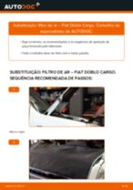 Tutorial de reparo e manutenção FIAT DOBLO Platform/Chassis (263)