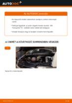 VW TRANSPORTER IV Bus (70XB, 70XC, 7DB, 7DW) Olajszűrő beszerelése - lépésről-lépésre útmutató