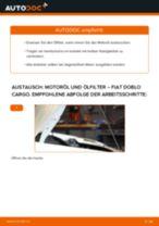 FIAT DOBLO Cargo (223) Motorölfilter: Online-Tutorial zum selber Austauschen