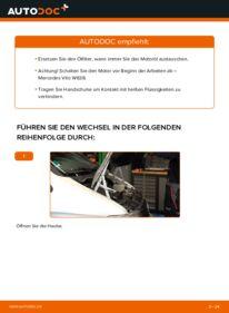 Wie der Wechsel durchführt wird: Ölfilter 112 CDI 2.2 (638.194) Mercedes W638 Bus tauschen