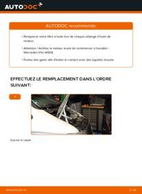 Comment effectuer un remplacement de Filtre à Huile sur 112 CDI 2.2 (638.194) Mercedes W638 Bus
