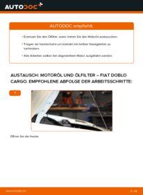 Wie der Wechsel durchführt wird: Ölfilter 1.9 JTD Fiat Doblo Cargo tauschen