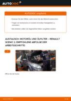 Tipps von Automechanikern zum Wechsel von RENAULT Renault Scenic 2 1.5 dCi Kraftstofffilter