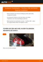 FIAT TEMPRA Kraftstofffilter wechseln Diesel Anleitung pdf