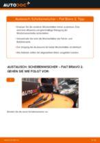 Wie Fiat Bravo 2 Scheibenwischer vorne wechseln - Anleitung