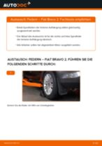 Wie Fiat Bravo 2 Federn hinten wechseln - Anleitung