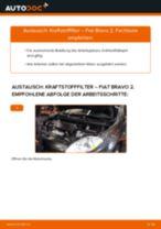 Wie Fiat Bravo 2 Kraftstofffilter wechseln - Anleitung