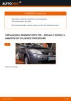 diesel en benzine Brandstoffilter RENAULT SCÉNIC II (JM0/1_) | PDF tutorial voor vervanging