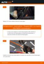 Tutoriel PDF étape par étape sur le changement de Essuie-Glaces sur PEUGEOT 208
