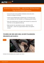 DIY-Leitfaden zum Wechsel von Handbremsseil beim OPEL VECTRA 2009