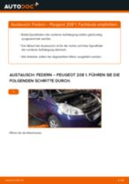 Peugeot 207 Limousine Wasserpumpe + Zahnriemensatz wechseln Anleitung pdf