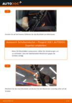 Citroen Berlingo mk2 Bremssattelhalter wechseln vorne links rechts Anleitung pdf