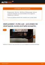 Manuel entretien ALFA ROMEO pdf