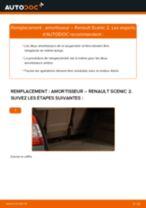 Comment changer : amortisseur arrière sur Renault Scenic 2 - Guide de remplacement