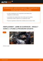 PDF manuel de remplacement: Amortisseur RENAULT SCÉNIC II (JM0/1_) arrière + avant