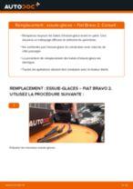 Comment changer et régler Rotule inferieur FIAT BRAVA : tutoriel pdf