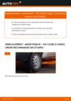 Manuel en ligne pour changer vous-même de Tirette à câble frein de stationnement sur Toyota Yaris II