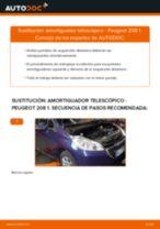 Reemplazar Amortiguador PEUGEOT 208: pdf gratis