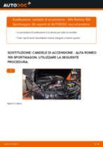 Come cambiare candele di accensione su Alfa Romeo 159 Sportwagon - Guida alla sostituzione