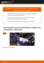 Manuale online su come cambiare Ganasce dei freni Ford Fiesta Mk6