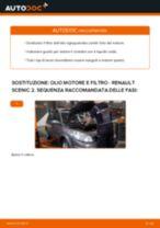 Come cambiare olio motore e filtro su Renault Scenic 2 - Guida alla sostituzione