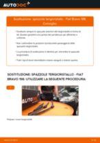 Come cambiare spazzole tergicristallo della parte anteriore su Fiat Bravo 198 - Guida alla sostituzione