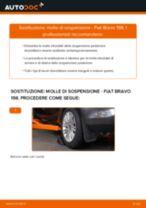 Come cambiare è regolare Molle ammortizzatore FIAT BRAVA: pdf tutorial
