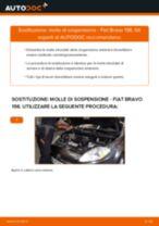 Impara a risolvere il problema con Molla Ammortizzatore anteriore sinistro destro FIAT