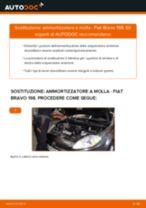 Come cambiare ammortizzatore a molla della parte anteriore su Fiat Bravo 198 - Guida alla sostituzione