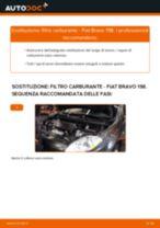 Montaggio Filtro combustibile FIAT BRAVO II (198) - video gratuito