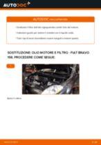 Come cambiare olio motore e filtro su Fiat Bravo 198 - Guida alla sostituzione