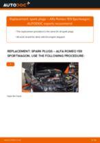 Spark plug ALFA ROMEO 159 Sportwagon (939) | PDF replacement manual