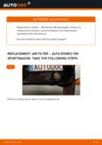 Auto mechanic's recommendations on replacing ALFA ROMEO Alfa Romeo 159 Sportwagon 2.4 JTDM Brake Pads