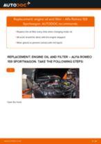 Oil filter ALFA ROMEO 159 Sportwagon (939) | PDF replacement manual