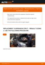 DIY RENAULT change Shocks rear and front - online manual pdf