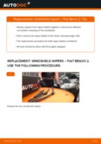 Changing Anti Roll Bar Bushes FIAT BRAVA: workshop manual