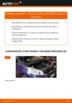 Veiledning på nettet for å skifte Skrue, leddaksel flens i Smart Fortwo 450 Coupé selv