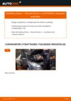 PDF med trinn for trinn-veiledning for bytte av RENAULT SCÉNIC II (JM0/1_) Fjærer