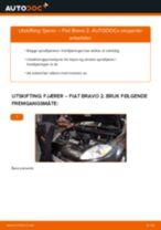Montering Holder, stabilisatorlagring FIAT BRAVO II (198) - steg-for-steg manualer