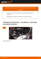 Montaż Zestaw naprawczy, przegub nożny / prowadzący FIAT BRAVO II (198) - przewodnik krok po kroku