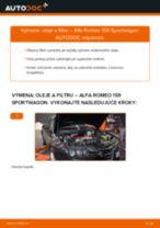 Kedy meniť Olejový filter ALFA ROMEO 159 Sportwagon (939): pdf príručka