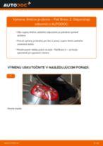 Príručka o výmene Tlmič pruzenia v FIAT BRAVA vlastnými rukami